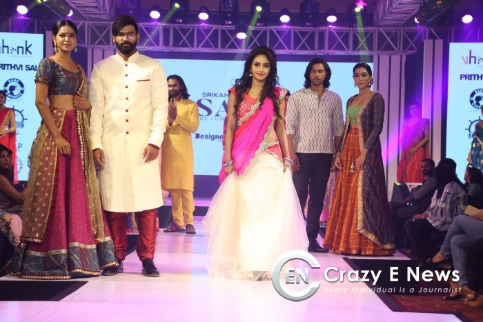 'SARVA' fashion show by Designer Srikanth Tupakula held