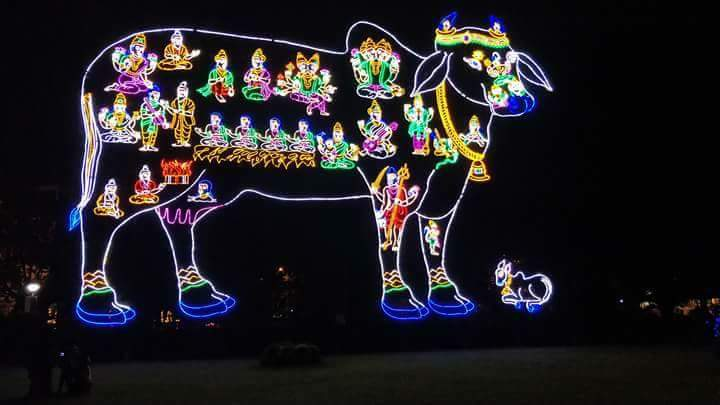 BRAMOTSHAVAMS LIGHTING IN TIRUPATI