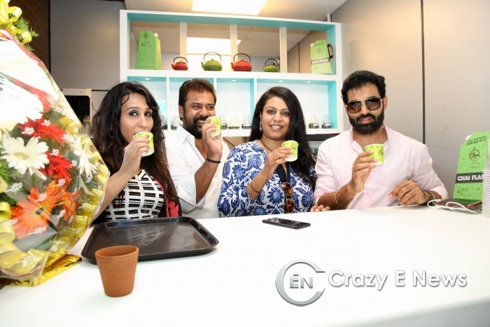 Tollywood Celebs at Hyderabadi Chai Adda Launch  RGIA