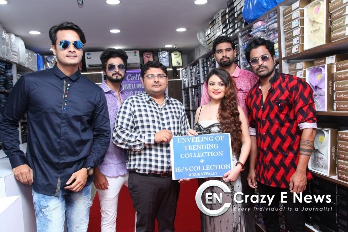 Hes Mens Store Launched Trending Collections at Alluri Trade Center