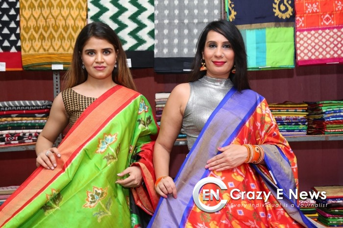 Pochampally IKAT art mela kick-start at Nizampet