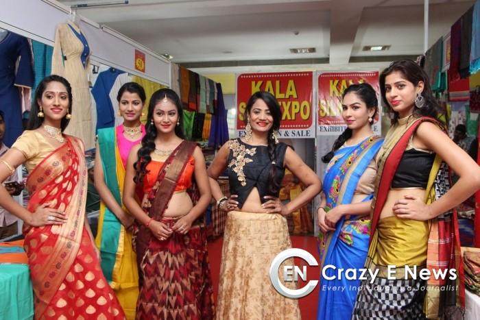 Kala Silk Handloom Expo begans at Himayatnagar