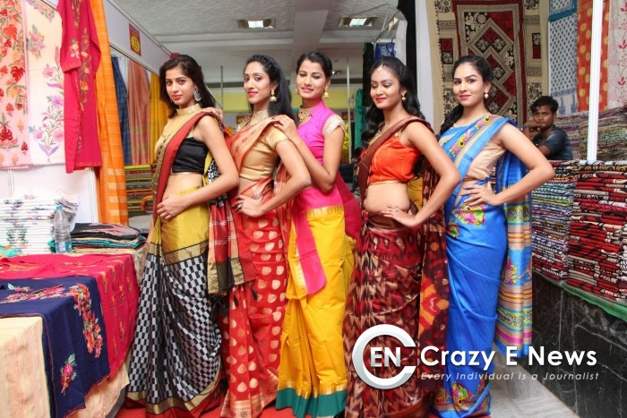 Kala Silk Handloom Expo begans at Himayatnagar
