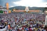 వైకుంఠ ద్వారం నుంచి శ్రీవారు భక్తులకు దర్శనం