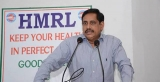 MD  HMRL NVS Reddy today advised  the young girl students to be achievers in life.