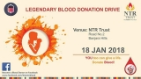 Legendary Blood Donation Drive in AP TS today