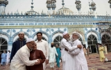 Pakistan on Saturday celebrated Eid ul Fitr with religious zeal and fervour.
