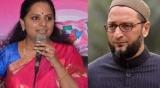 Kavitha responds to Asaduddin's plea