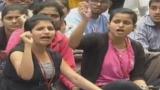CBIT students boycott exam, take out rally against fee hike